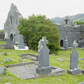 Ruins of Murrisk Abbey, County Mayo, Ireland — Stock Photo