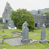 Ruins of Murrisk Abbey, County Mayo, Ireland — Stock Photo