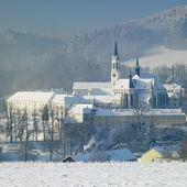 Monastery, Vyssi Brod, Czech Republic — Stock Photo