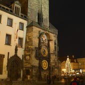 Horloge, Old Town Square, Prague, Czech Republic — Stock Photo