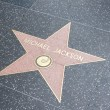 Hollywood Walk of Fame, Los Angeles, California, USA — Stock Photo