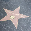 Hollywood Walk of Fame, Los Angeles, California, USA - Stock Photo