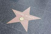 Hollywood Walk of Fame, Los Angeles, California, USA — Stock Photo