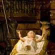 Stock Photo: Crib in Cathedral Notre Dame, Strasbourg, Alsace, France