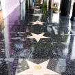 Hollywood Walk of Fame, Los Angeles, California, USA — Stock Photo #4425695