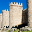Stock Photo: Fortification of Avila, Castile and Leon, Spain