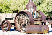 Steam machine, Furnace Creek, Death Valley National Park, Califo — Stock Photo