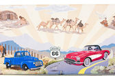 Route 66, Kingman, Arizona, USA — Stock Photo