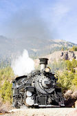 Durango Silverton Narrow Gauge Railroad, Colorado, USA — Stock Photo