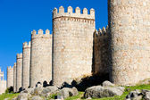 Fortification of Avila, Castile and Leon, Spain — Stock Photo