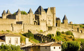 Carcassonne, Languedoc-Roussillon, France — Stock Photo