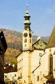 Town hall, Banska Stiavnica, Slovakia — Stock Photo