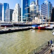 Pier 17, Manhattan, New York City, USA - Stock Photo