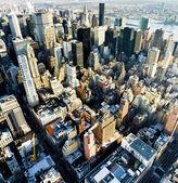 Vue sur manhattan de l'empire state building, new york city, — Photo
