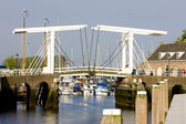 Drawbridge, Zierikzee, Zeeland, Netherlands — Stock Photo