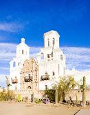 San Xavier del Bac Mission, Arizona, USA — Stock Photo