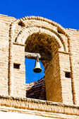 Bell tower of San Jose de Tumacacori Chruch, Arizona, USA — Stock Photo