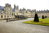 Palace Fontainebleau, — Stock Photo