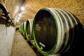 Wine cellar, Jaroslavice, Czech Republic — Stock Photo