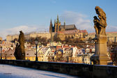 Charles Bridge, Prague, Czech Republic — Stock Photo