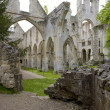 Stock Photo: Abbey of Jumieges, Normandy, France