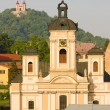 Church of St. Mary, Banska Stiavnica, Slovakia — Stock Photo