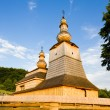 Wooden church, Mirola, Slovakia — Stock Photo