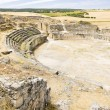 Roman Amphitheatre of Segobriga, Saelices, Castile-La Mancha, Sp - Stock Photo