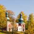 Pilgrimage church at Calvary, Banska Stiavnica, Slovakia — Stock Photo