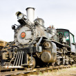 Stem locomotive in Colorado Railroad Museum, USA — Stock Photo #4502863