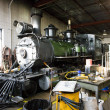 Stem locomotive depot, Colorado Railroad Museum, USA — Stock Photo #4502867