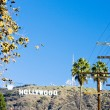 Hollywood Sign, Los Angeles, California, USA — Stock Photo