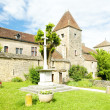 Stock Photo: Gevrey-Chambertin Castle, Cote de Nuits, Burgundy, France