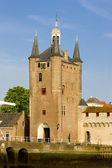 Medieval gate, Zierikzee, Zeeland, Netherlands — Stock Photo