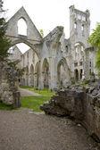 Abbey, jumieges, normandy, fransa — Stok fotoğraf