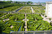 Villandry Castle''s garden, Indre-et-Loire, Centre, France — Stock Photo