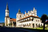 Square of Master Paul, Levoca, Slovakia — Stock Photo