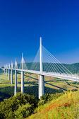 Millau Viaduct, Aveyron D — Stock Photo