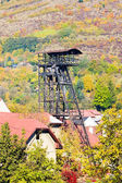 Old mining tower, Kremnice, Slovakia — Stock Photo