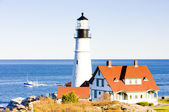Portland Head Lighthouse, Maine, USA — Zdjęcie stockowe