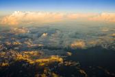 Clouds - view from plane — Stockfoto