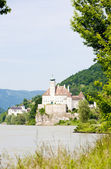 Schoenbuehel Castle on the Danube river, Lower Austria, Austria — ストック写真