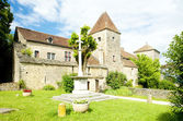 Gevrey-Chambertin Castle, Cote de Nuits, Burgundy, France — Stock Photo