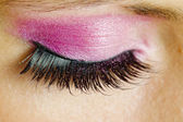 Detail of woman''s makeup — Stock Photo