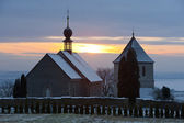 Church in Vaclavice, Czech Republic — Stock Photo