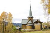 Hedal stavkirke, noruega — Foto Stock