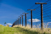 Remains of iron curtain, Cizov, Czech Republic — Stock Photo