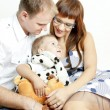 Royalty-Free Stock Photo: Portrait of parents with their little son