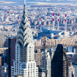 Chrysler building, Manhattan, New York City, USA — Stock Photo