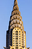 Detail of Chrysler building, Manhattan, New York City, USA — Stock Photo